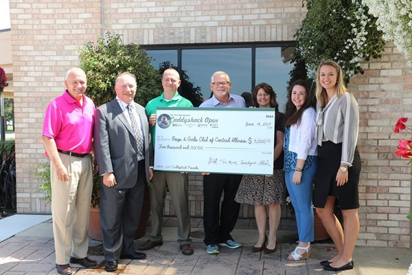Boys Girls Club Check Presentation