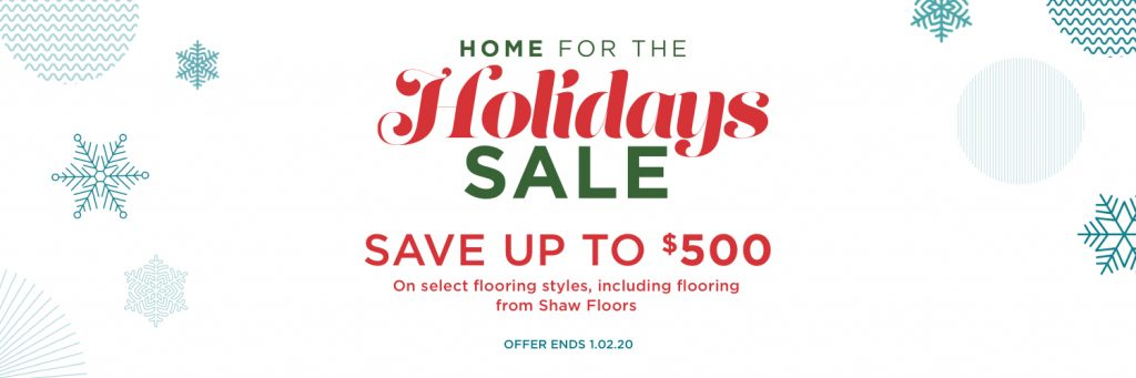 Home for the holidays sale | Staff Carpet