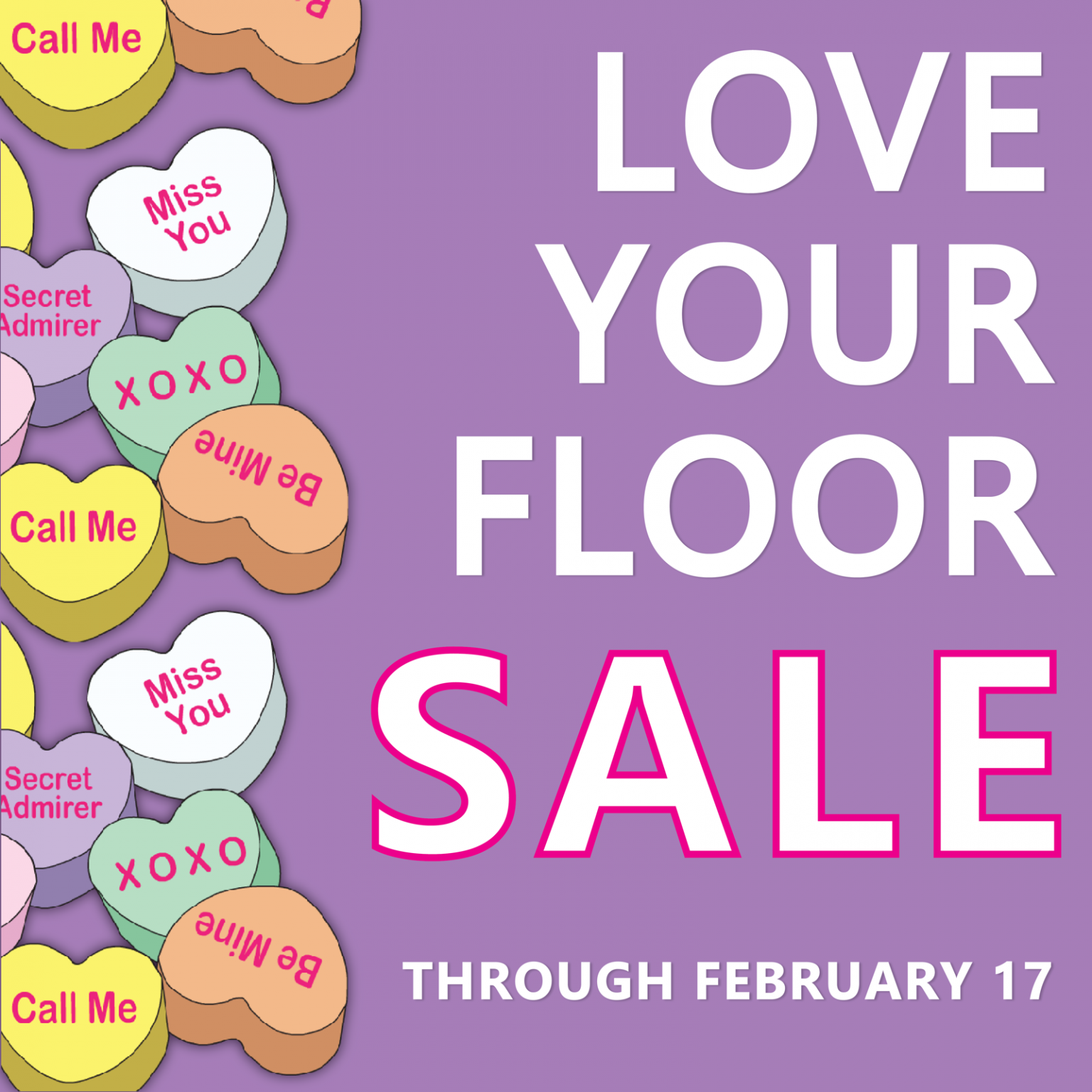 Love your floor sale | Staff Carpet