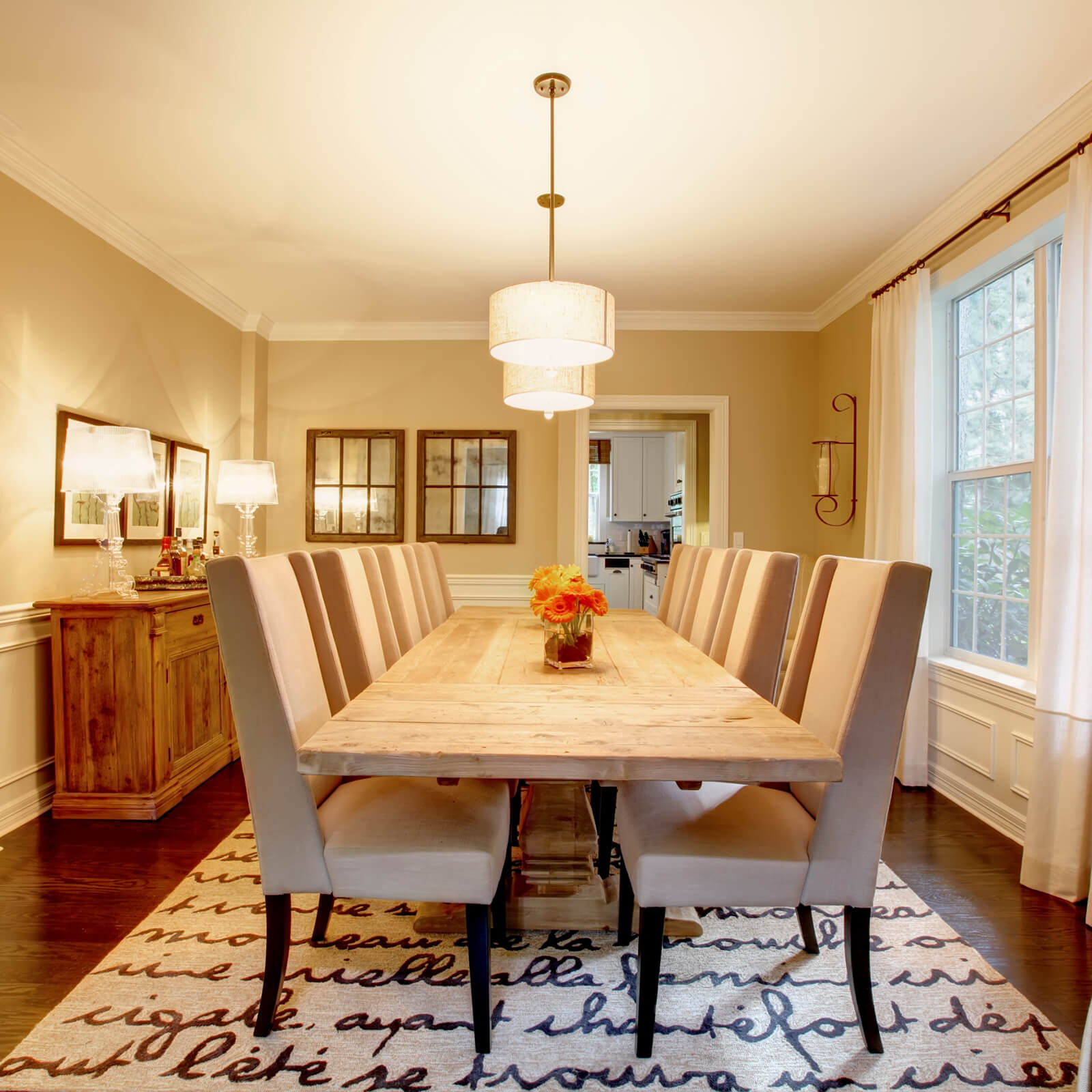 Choosing the Best Rug for Your Dining Room | Staff Carpet