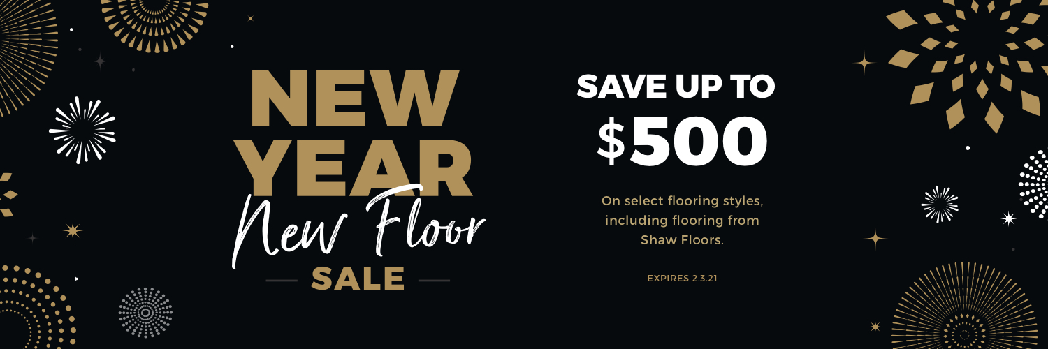 New Year New Floors Sale | Staff Carpet
